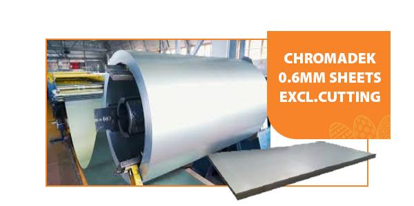 Chromadek sheets