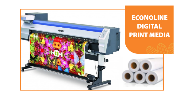 Econoline digital print media