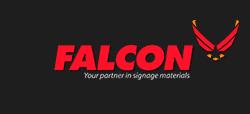Falcon footer logo