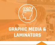 Graphics media & laminators