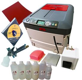 A4 CMYW Printer