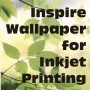 Wallpaper for inkjet printing