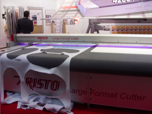ARISTO SHOWCASES NEW LARGE FORMAT CUTTER AT DRUPA