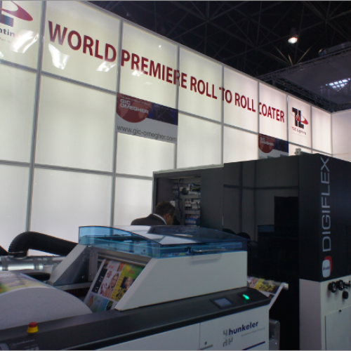 TEC LIGHTING EMEA LAUNCHES D-CUBE ROLL-TO-ROLL COATER AT DRUPA