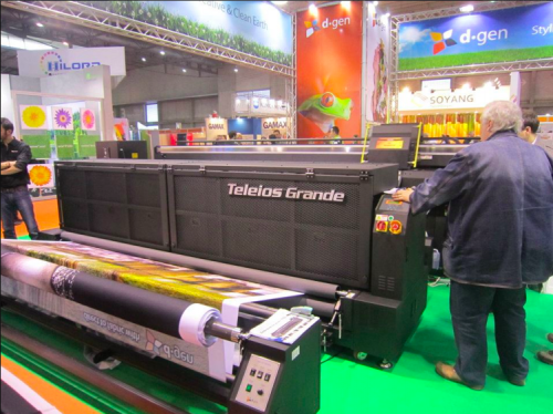 D.GEN SHOWCASES TELEIOS GRANDE AT FESPA DIGITAL