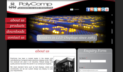 POLYCOMP LAUNCHES NEW WEBSITE