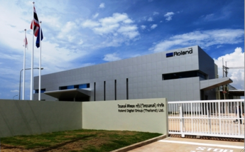 ROLAND DG CORPORATION EXPANDS WITH MANUFACTURING FACTORY IN THAILAND