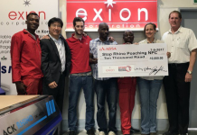 Exion Corporation Contributes To Anti-Rhino Poaching Efforts