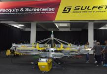 Macquip And Screenwise Launches Sulfet Scorpion II Screen Printer