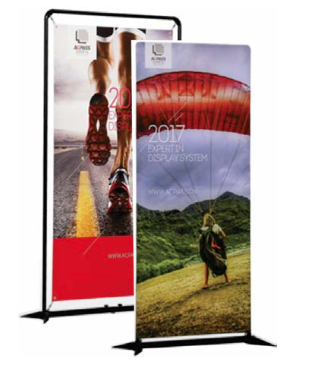 Maizey Plastics Announces Availability Of New Banner Stands