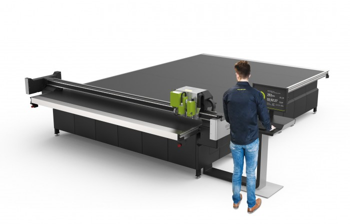 Esko Launches Kongsberg C66 Digital Cutting Table Sign