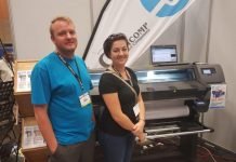 Graficomp Sells HP Latex L110 To Print CMYK At Sign Africa Durban Expo