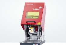 Trotec Showcasing Laser Marking Machine At Sign Africa Cape Town Expo