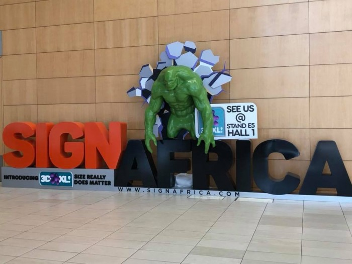 Expo Stands Cape Town : Enthusiastic visitors from the signage and print industry flock to