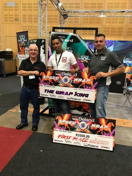 Speed Wrap Winner Crowned At Sign Africa Cape Town Expo