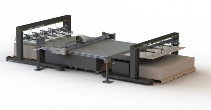 Esko showcasing solutions for sign, display and digital corrugated markets.