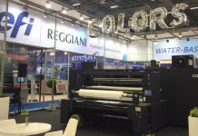 EFI Launches New EFI Reggiani COLORS Digital Printer