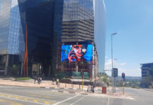 Relativ Media's Digital Screen Creates Feeling of New York In SA