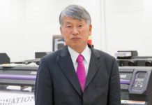 Mimaki chairman Sakae Sagane, who also served as executive vice president for Mimaki Engineering Company, has retired.