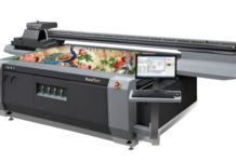 HandTop launches White-CMYK-Varnish Simultaneous Output for more efficient output.