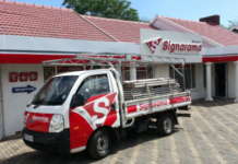 Signarama Pretoria North illustrates growth in business.