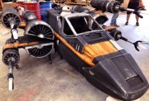 Massivit And Magic Wheelchair Team Up For X-Wing Fighter Charity 3D Printed Costume