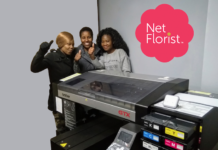 Coloroscreen announces second Brother GTX installation for Netflorist.