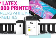 HP Latex R2000 Printer Pioneers White Ink Capabilities