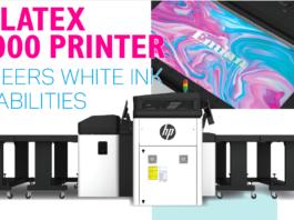 HP Latex R2000 Printer Pioneers White Ink Capabilities