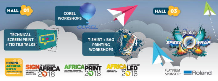 Sign Africa And FESPA Africa Expo 2018 Announces Range Of Educational Features