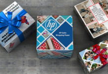 HP Reveals Satin Wrapping Paper