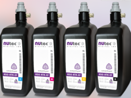 NUtec Digital Ink announces latest UV inks suitable for EFI range of GS and QS Printers.