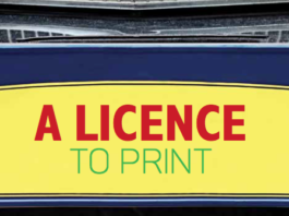 A licence to print.