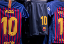 Avery Dennison named global licensee of F.C. Barcelona's name and numbers shirt customisation.
