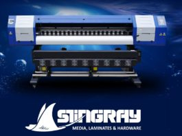 Kolok Graphic Supplies announces Stingray all-in-one solution.