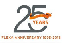 Flexa celebrates 25th anniversary.