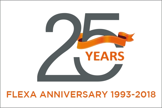 Flexa celebrates 25th anniversary.
