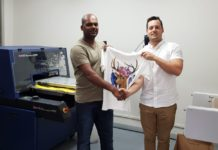Rexx Screen & Digital Supplies installs Kornit Thunder and Return Belt Dryer at Vic Bay KZN.