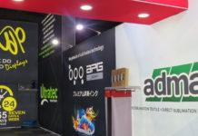 Advertech showcase innovative banner walls.