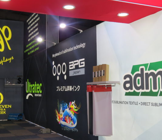 Advertech showcase innovative banner walls.