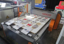 Ruijie Display range of laser machines and CNC routers at Sign Africa and FESPA Africa Expo.