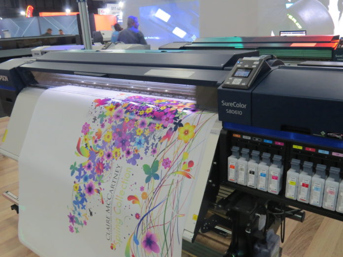 Epson showcases DTG printers, heat presses and more at Sign Africa and FESPA Africa Expo.
