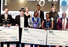Top achievers honoured at annual Printing SA Gala Dinner.