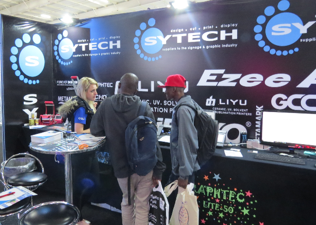Sytech showcases Ezee Applicator, Graphtec Cutters and more at Sign Africa and FESPA Africa Expo.