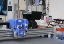 Thomas Leach Colour invests in DYSS cutting table.