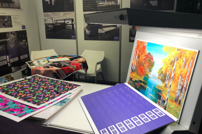 Industrial Inkjet Specialists Showcase Samples From Durst Innovations And More At Sign Africa And FESPA Africa Expo.