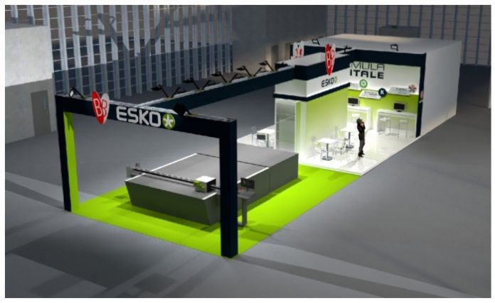 Esko and distribution partner to demonstrate innovations.