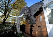 3D printed elephant created by Massivit 1800.