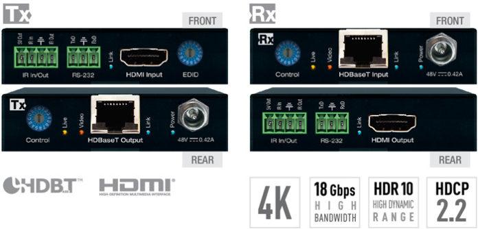 Key Digital Introduces Signage HDBaseT Extender Kit