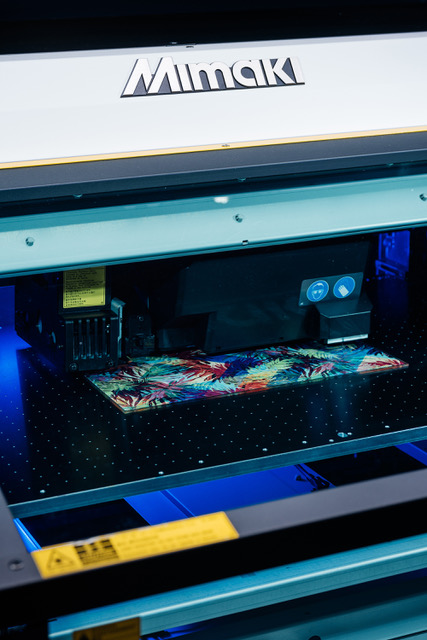 Mimaki Showcasing Comprehensive Portfolio.